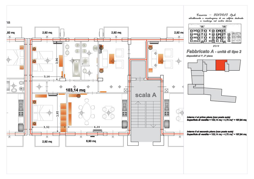 Appartamento in affitto a Casoria, 4 locali, prezzo € 700 | Cambio Casa.it